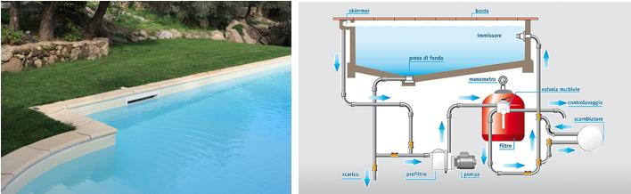 piscine skimmer